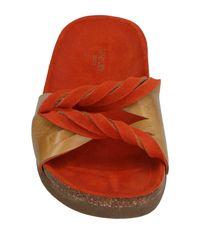 Audley | Orange Sandals | Lyst