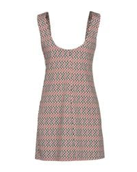 JOIE CLAIR - Red Short Dress - Lyst