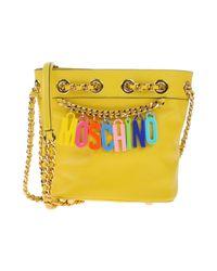 Moschino - Yellow Handbag - Lyst