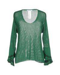 Caractere - Green Jumper - Lyst