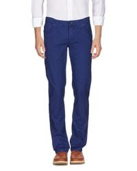 Jeckerson - Blue Casual Trouser for Men - Lyst