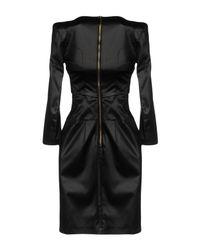 Pinko - Black Short Dresses - Lyst