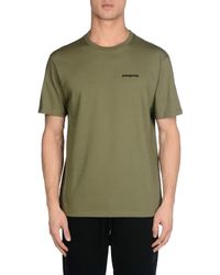 Patagonia - Green T-shirt for Men - Lyst