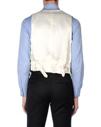 John Galliano - Brown Vest for Men - Lyst