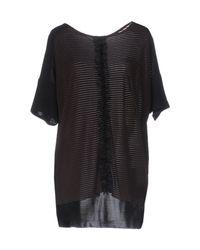 Jucca - Black T-shirt - Lyst