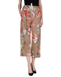 Erika Cavallini Semi Couture - Multicolor Casual Pants - Lyst