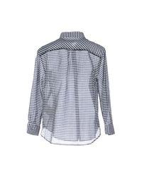 Henry Cotton's - Blue Shirt - Lyst
