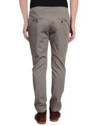 Dondup - Gray Casual Trouser for Men - Lyst