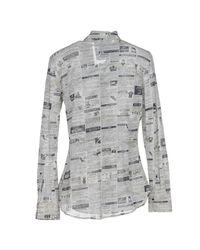 Moschino - Gray Shirts - Lyst
