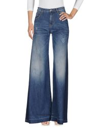 Amen - Blue Denim Trousers - Lyst