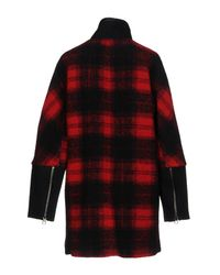 Madewell - Red Coat - Lyst