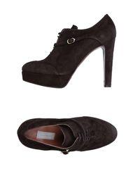 L'Autre Chose - Brown Lace-up Shoe - Lyst