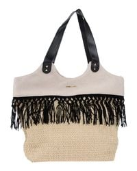 Twin Set - Natural Shoulder Bag - Lyst