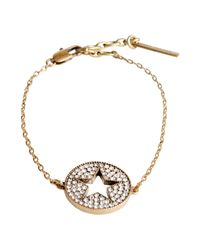 Marc Jacobs - Metallic Bracelet - Lyst