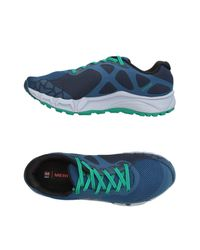 Merrell - Blue Low-tops & Sneakers for Men - Lyst