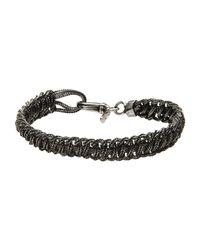 Emanuele Bicocchi   Metallic Bracelet for Men   Lyst
