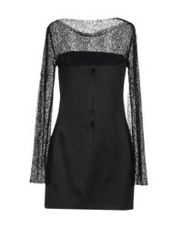 Roberta Scarpa - Black Short Dresses - Lyst
