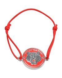 KENZO - Red Bracelet - Lyst
