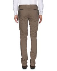 PT01 - Green Casual Trouser for Men - Lyst