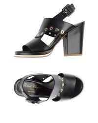 Robert Clergerie - Black Sandals - Lyst