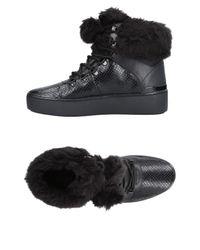 MICHAEL Michael Kors - Black High-tops & Sneakers - Lyst