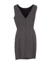 Marco Bologna - Black Short Dress - Lyst