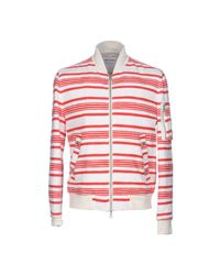 Mauro Grifoni - Red Jacket for Men - Lyst
