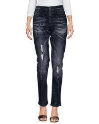 Gucci - Black Denim Trousers - Lyst