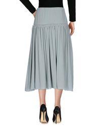 Chloé - Green 3/4 Length Skirts - Lyst