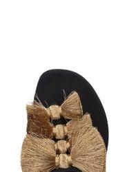 Sanayi 313 - Black Toe Post Sandal - Lyst