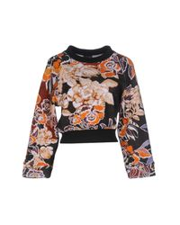 Just Cavalli - Black Sweatshirt - Lyst