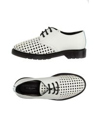 Philippe Model - White Lace-up Shoe - Lyst