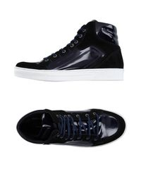 Alessandro Dell'acqua - Blue High-tops & Sneakers for Men - Lyst