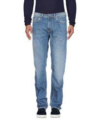 Gas - Blue Denim Pants for Men - Lyst