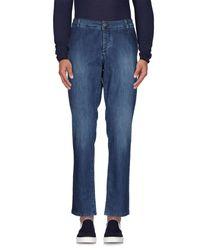 Alessandro Dell'acqua - Blue Denim Trousers for Men - Lyst