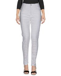 Isabel Marant - White Denim Pants - Lyst