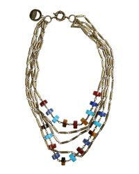 Giles & Brother - Metallic Necklace - Lyst