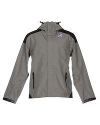 K-Way | Gray Jacket | Lyst