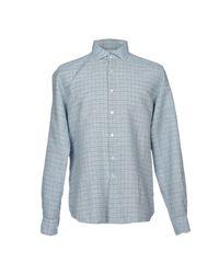 Boglioli - Blue Shirts for Men - Lyst