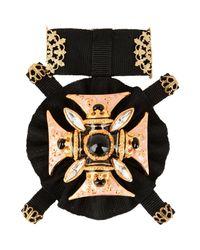 Dolce & Gabbana - Black Brooch - Lyst