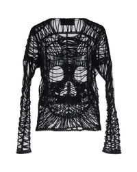 Philipp Plein - Black Blouse - Lyst