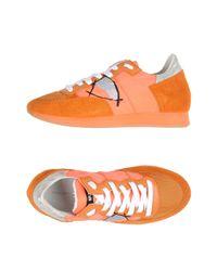 Philippe Model - Orange Low-tops & Sneakers - Lyst