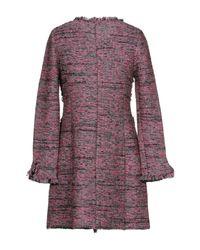 Charlott - Gray Overcoat - Lyst