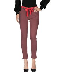 Sun 68 - Purple Casual Pants - Lyst