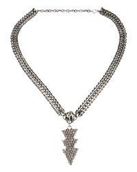 John Richmond - Metallic Necklaces - Lyst