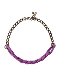 Malababa - Purple Necklace - Lyst