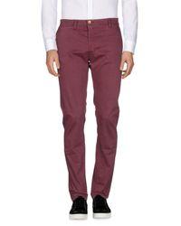 U.S. POLO ASSN. - Purple Casual Trouser for Men - Lyst