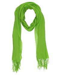 VALENTINA CAMERUCCI - Green Scarf - Lyst