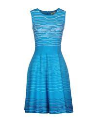 Issa - Blue Short Dresses - Lyst