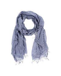 Polo Ralph Lauren - Blue Oblong Scarf for Men - Lyst